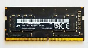 Micron 8gb ddr4 2400mhz Laptop RAM ~~ pc4-19200 2400t SODIMM Memory 288 Pin iMac