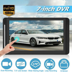 """7"""" LCD Monitor For Large Vehicle Bus Truck Motorhome Car DVR Dual Lens+15M Cable"""