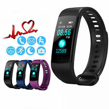 CARDIOFREQUENZIMETRO SPORT TRACKER OROLOGIO SMARTWATCH FITNESS BAND ANDROID iOS