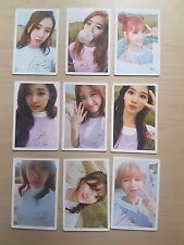 Lots of 9 Twice TWICEcoaster : LANE1 official First Press limited photo card