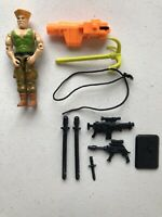 GI Joe 1993 Guile v1 Special Forces Fighter Hasbro Action Figure  #536