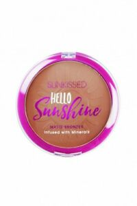 SUNKISSED HELLO SUNSHINE MATTE BRONZER - WOMEN'S FOR HER. NEW. FREE SHIPPING