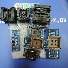 SOP & PLCC 8pcs Sockets Kit for TL866CS TL866A RT809F with IC extractor