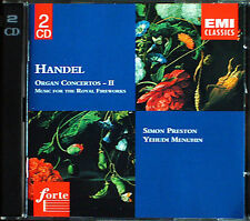 HANDEL Orgelkonzerte 11-15 Simon PRESTON & MENUHIN 2CD Organ Concerto Yehudi
