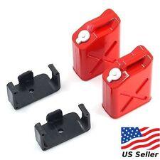 Yeah Racing 1/10 RC Rock Crawler Accessories - Fuel Can Red (2) YEA-YA-0355