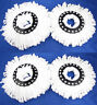 Lot Of 4 Replacement Microfiber Mop Head Refill For Hurricane Magic Mop 360 Spin