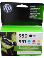 4-PACK HP GENUINE 950 Black & 951 Color Ink - 2020/2021 (RETAIL BOX)
