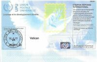 VATICAN - (IRC) INTERNATIONAL REPLY COUPON (exp. 31.12.2021) (POSTMARKED), MNH
