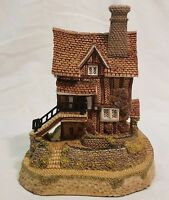 David Winter Lace Makers Cottage The Midlands Collection Original Box 1987