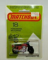 Matchbox Superfast No 18 Hondarora Red, BLACK MAG WHEELS MIB HTF
