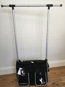 AMD MINI PACK 'N' HANG, Carry on Luggage size with Hanging Rack & Cosmetic Bag