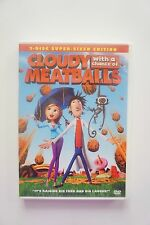 Cloudy With a Chance of Meatballs (DVD, 2010, 2-Disc Set)