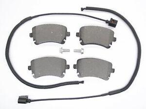 Bremsbeläge hinten für VW PHAETON 3D 3,0 V6 3,2 4,2 5,0 V10 6,0 W12 TDI 4x4