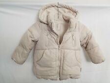 Zara Baby Outerwear Down Ivory Jacket Sz 3/4yrs
