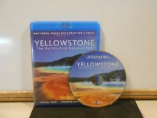 National Parks Exploration Series Yellowstone Worlds First National Park Blu-ray