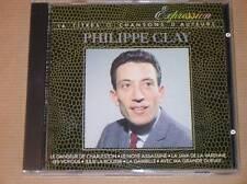 CD / PHILIPPE CLAY / CHANSONS D'AUTEUR / EXPRESSION / TRES BON ETAT