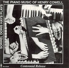 The Piano Music of Henry Cowell (CD, Town Hall) 24 Tracks - BN Sealed