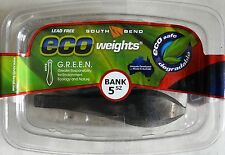Eco Weights Lead Free Fishing Bank Sinkers 5 Ounce - 4 Boxes of 3 - 12 Total