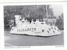 "~Post Card~""Strawberry Festival Queen & Court, 1932""- *Plant City, FL. (A13-1)"