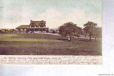 YORK PA 1906 Country Club & Golf Links VINTAGE PENNSYLVANIA GOLF GEM+++