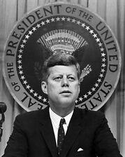 1962 President JOHN F KENNEDY JFK Glossy 8x10 Photo Historical Print Poster