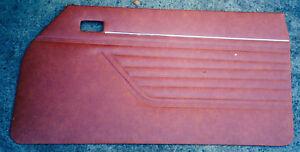 FORD ENGLISH CAPRI Coupe Reproduction Door Trims, Interiors.
