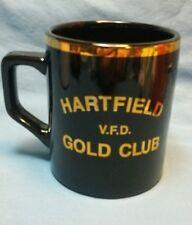 HARTFIELD, VA. VOLUNTEER FIRE DEPARTMENT GOLD CLUB COFFEE MUG