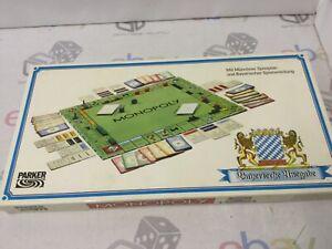 Vintage Monopoly German Parker Spielplan PARKER BROTHERS Board Game RARE!