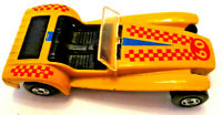 VINTAGE 1971 LESNEY MATCHBOX ORANGE LOTUS SUPER 7 RACER - No. 60 - SCALE 1:64