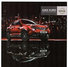NISSAN Juke Kuro LIMITED EDITION 2011 mercato britannico opuscolo 1.6 DIG-T 1.5 DCI