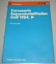 Werkstatthandbuch VW Golf II 2 Typ 19E Karosserie GT GTI 16V G60 CL ab 1984 Buch