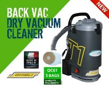 Ghibli T1v3 + 5 Bag Backpack Vacuum Cleaner Charcoal - Made in Italy