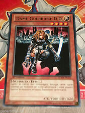 Carte Yu Gi Oh DAME GUERRIERE D.D. LCYW-FR215