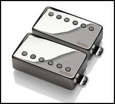 EMG 57 / 66 Alnico V Active Humbucker neck Bridge Guitar Pickup Set Black Chrome