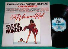 Stevie Wonder - A dama de vermelho The Woman In Red BRAZIL PROMO LP 1984 Motown