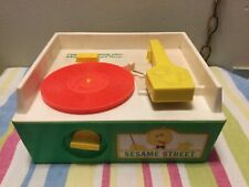 Vintage Sesame Street Record Player, With 1 Record