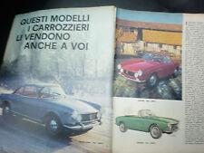 ARTICOLO :FIAT PININFARINA FISSORE SAVIO LOMBARDI MORETTI GHIA VIOTTI  -- 1964