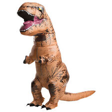 INFLATABLE T-REX ADULT Costume OFFICIAL Jurassic World Park Blowup Dinosaur
