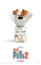 THE SECRET LIFE OF PETS 2 MOVIE POSTER 2 Sided ORIGINAL Advance  27x40
