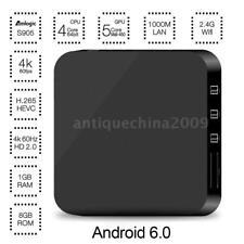 Rockchip RK3229 Quad Core Smart Android 6.0 TV Box 4K 3D WIFI H.265 Media Player
