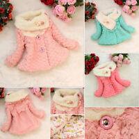 bébé fille enfants manteau tout-petit extérieur vêtements Veste hiver