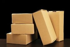 Small/ Medium Cardboard Postal Boxes. Size 185x105x25mm (pack of 100)