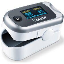 Beurer Pulsoximeter PO 40 454.32 silber/weiß
