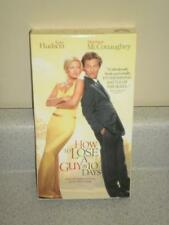 VHS MOVIE- HOW TO LOSE A GUY IN 10 DAYS- KATE HUDSON- USED- L95