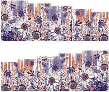 Nail Art Stickers Transfers Decals Flowers (A-108)