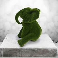 GILLIE AND MARC | Direct from the artists | Resin Sculpture | Evergreen Elephant