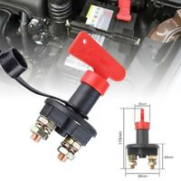 Battery Isolator Master Disconnect Power Cut Off Kill Switch Motorcycle Car