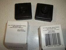 lot of 2 1/3 ccd 12vdc board camera pinhole lens vpc-460Ap Ultrak UL-BC460/P