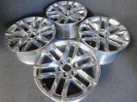 "OEM 20"" GMC Chevy Sierra Yukon Denali Polished Factory Wheel Rim 23377019"