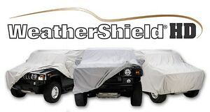 Covercraft Custom Car Covers - Weathershield HD - Indoor/Outdoor - Gray